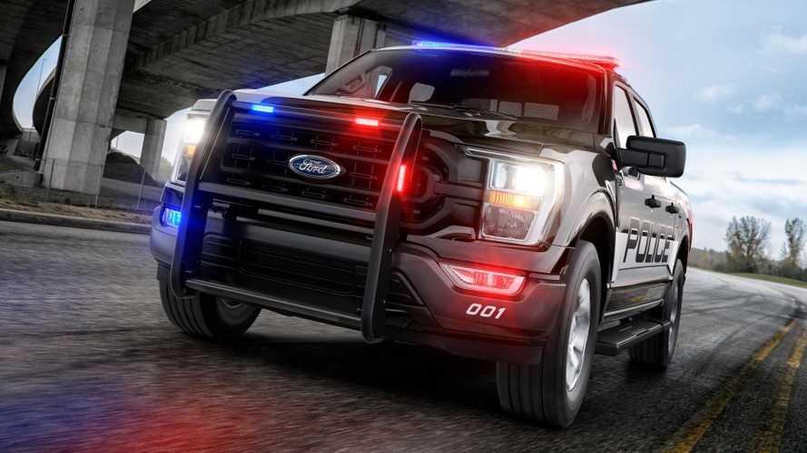 Ford F-150 Police Responder 2021: ¿el coche de policía más veloz?