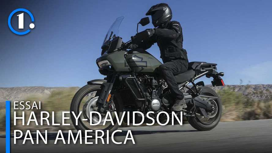 Premier essai de la Harley-Davidson Pan America