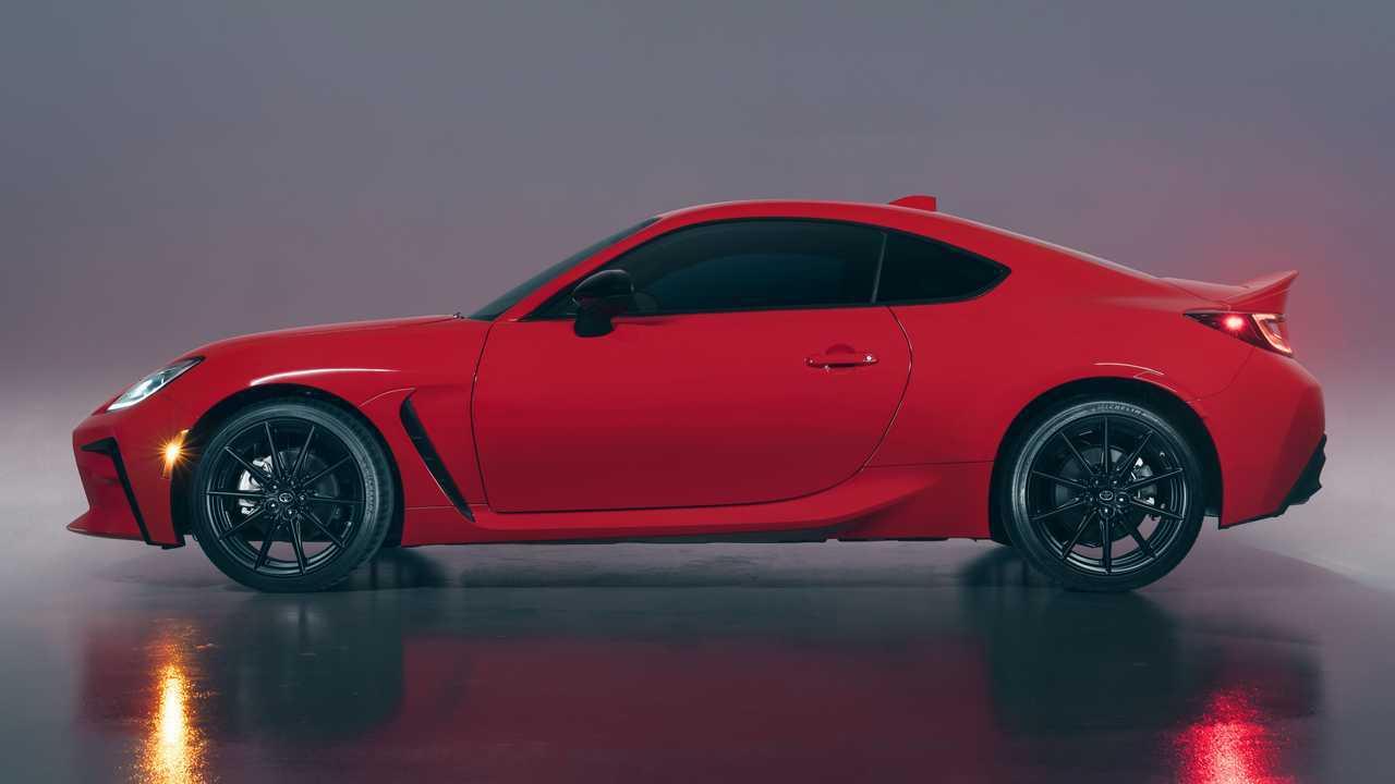 2022 Toyota GR 86 Perfil exterior