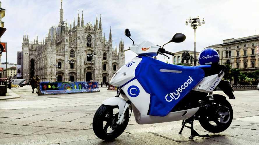 Cityscoot arriva a Milano