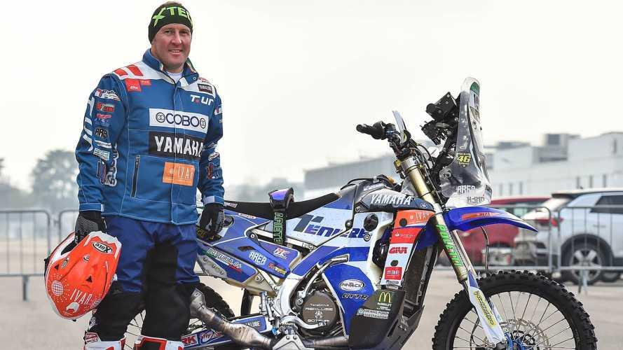 Alessandro Botturi con Yamaha alla Africa Eco Race