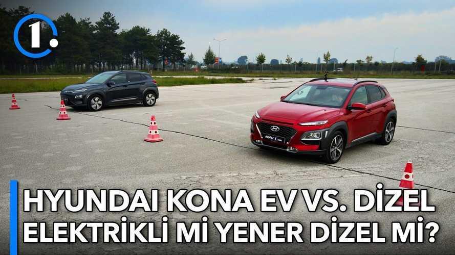 DRAG | Hyundai Kona Electric vs Hyundai Kona Dizel