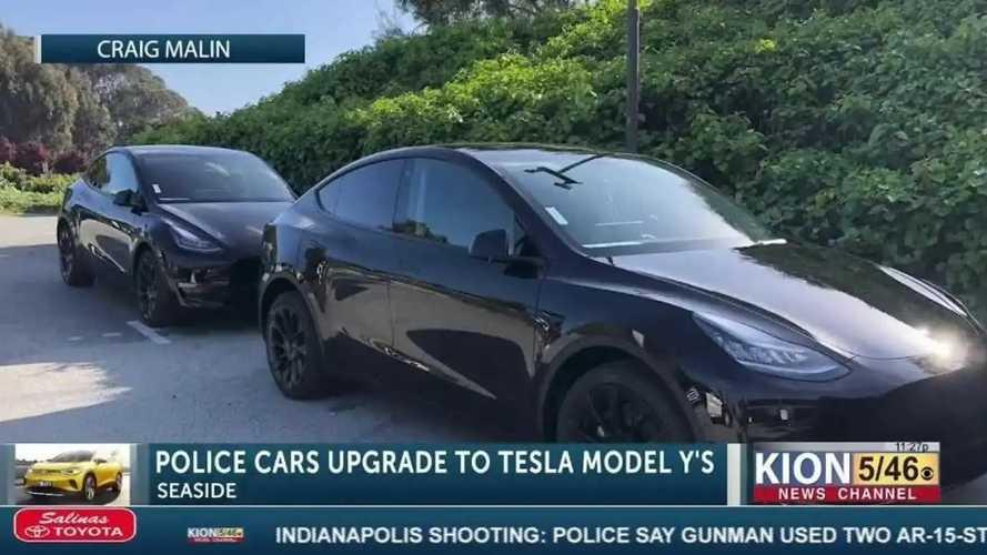 Vidéo - En Californie, la police se dote de deux Tesla Model Y