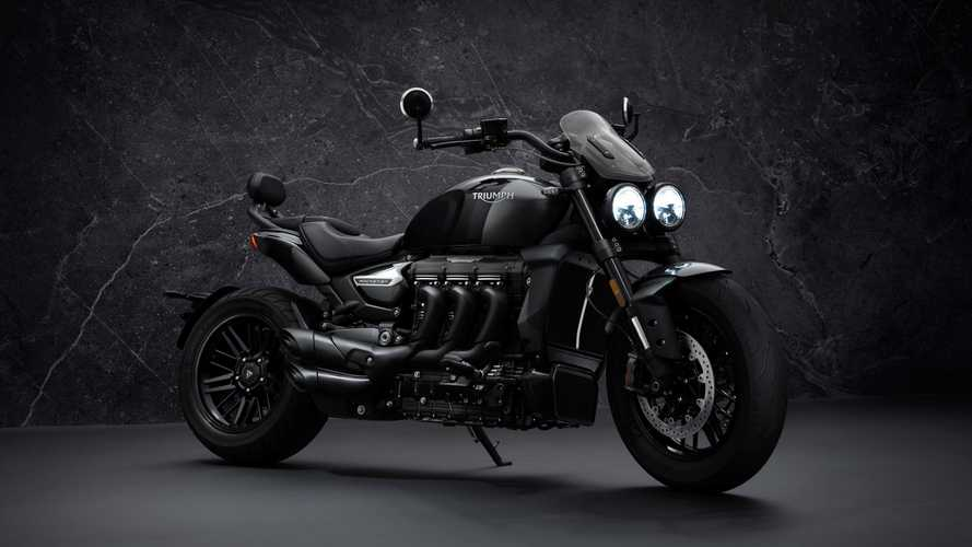 Triumph unveils limited-edition Rocket 3 R and GT in all black