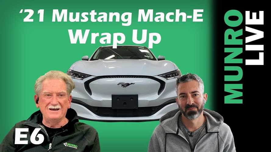 Ford Mustang Mach-E Wrap-Up From Sandy Munro & Sean Mitchell