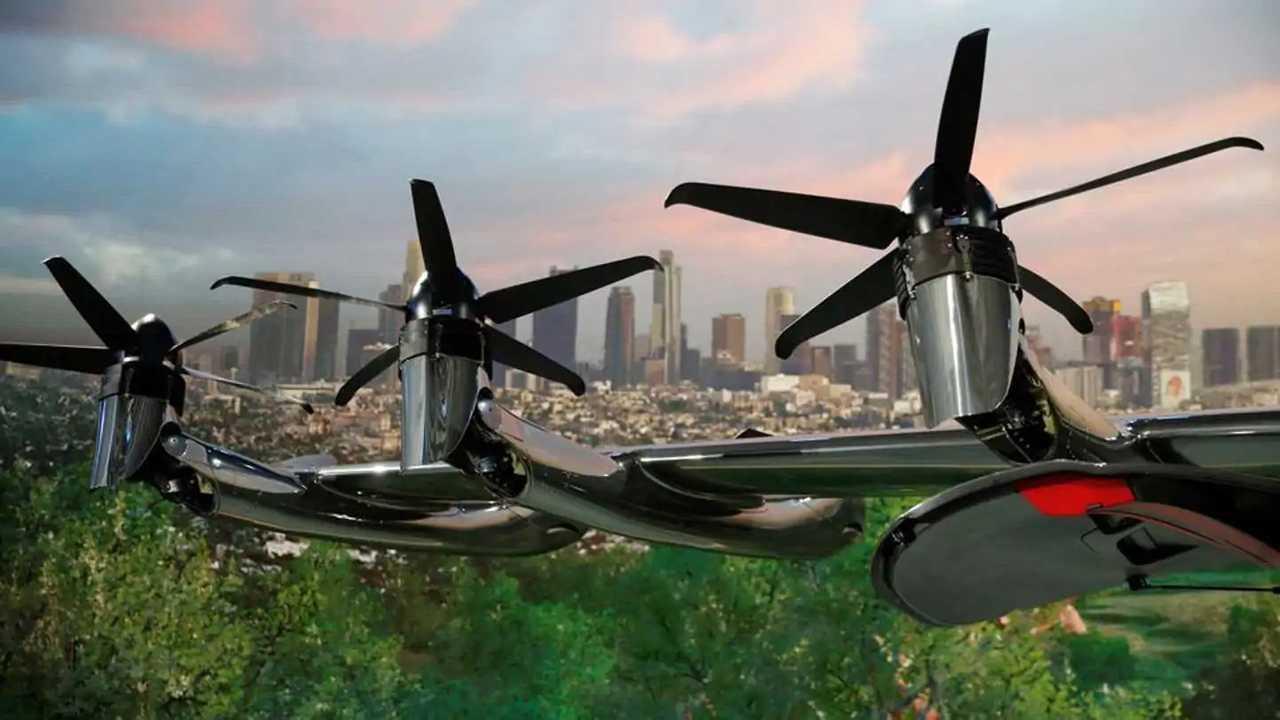 L'aero taxi Maker presentato dalla Archer