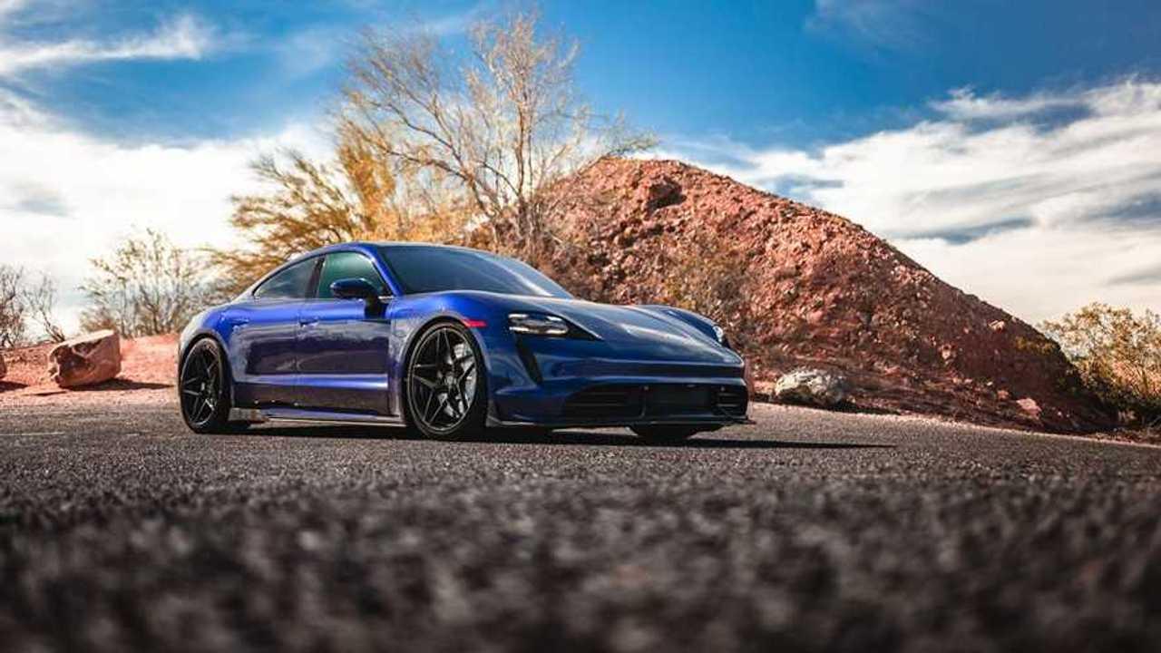 Vivid Racing Modifiyeli Porsche Taycan