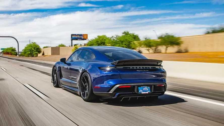 Porsche Taycan by Vivid Racing