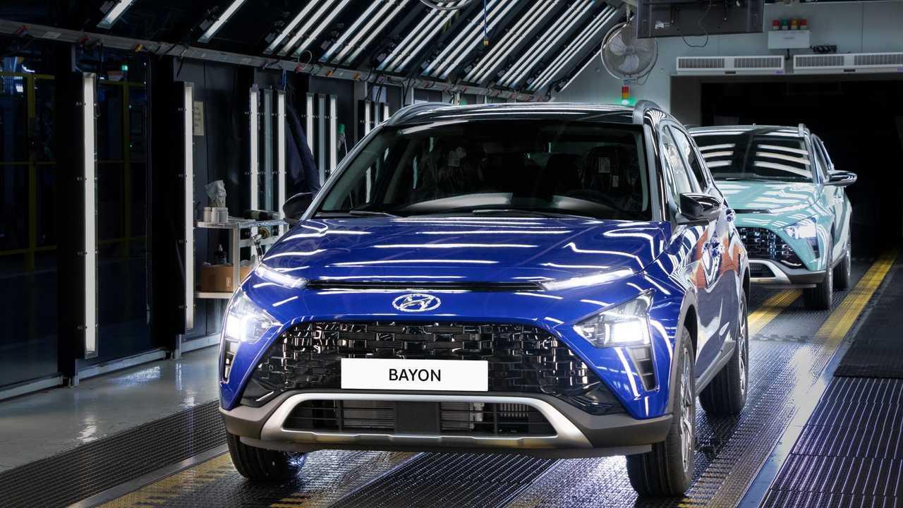 Hyundai Bayon Üretim Bandında