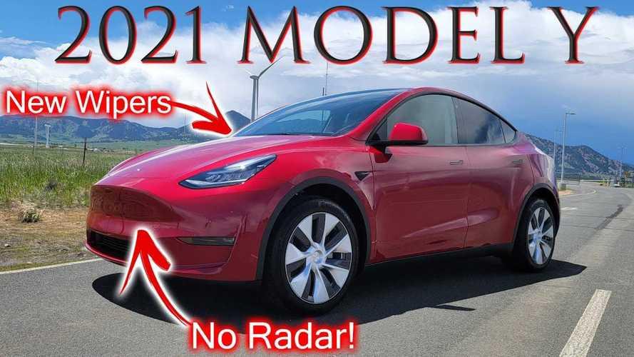 DÆrik Checks What Else Changed On The 2021 Tesla Model Y