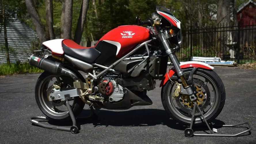 Ducati Monster S4 Fogarty Edition 2002: Tribute to WSBK Legend