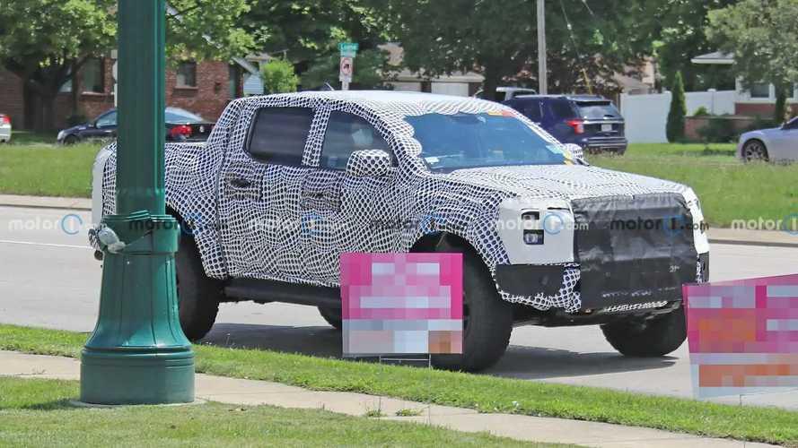Ford Ranger Raptor Yeni Casus Fotoğraflar