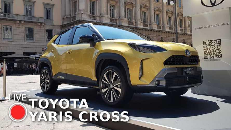 Toyota Yaris Cross, ecco com'è dal vivo