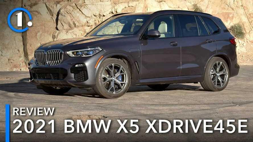 2021 BMW X5 xDrive45e Review: A Peachy-Keen Plug-In