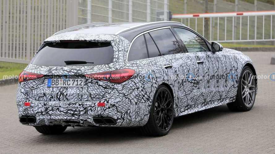 Mercedes-AMG C 63 Estate, fotos espía