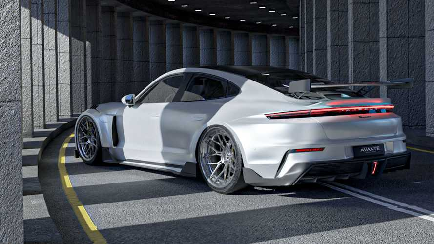 Porsche Taycan By Avante Design