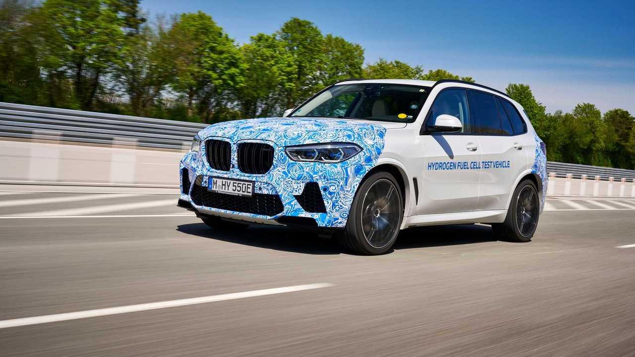 Teste BMW X5 com célula de combustível a hidrogênio