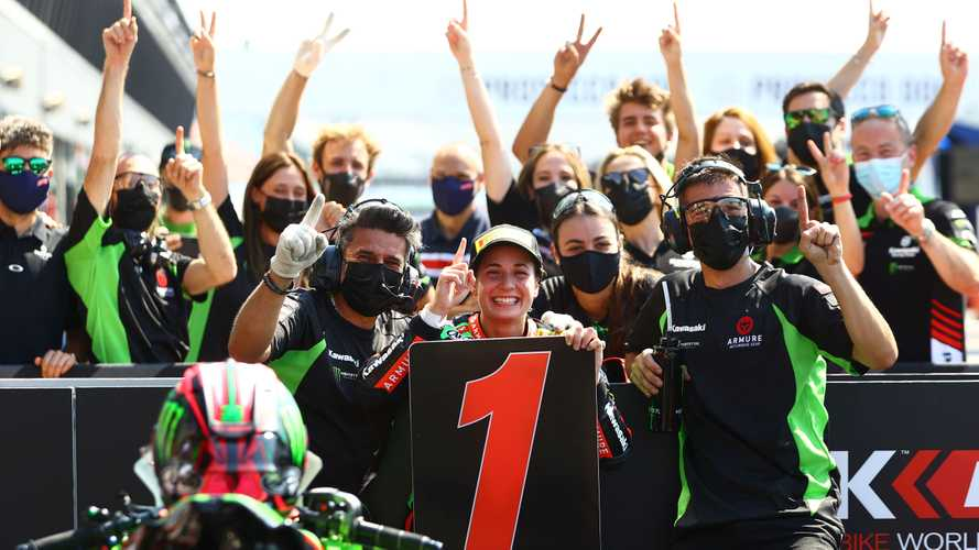 Ana Carrasco Wins First Race After Recovering From Spinal Injury