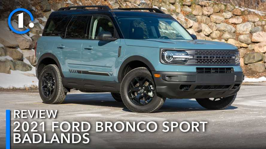 2021 Ford Bronco Sport Badlands Review: Creating Buyer's Remorse