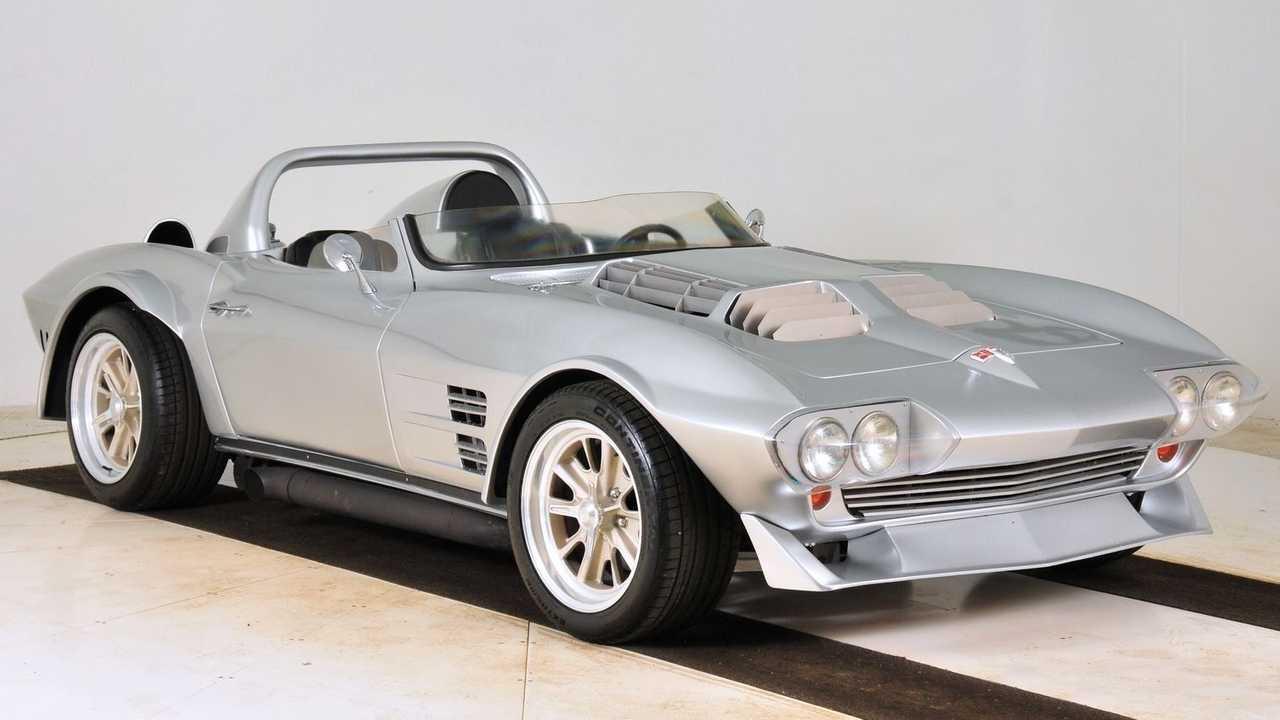 Replica Corvette Grand Sport película Fast And Furious 5