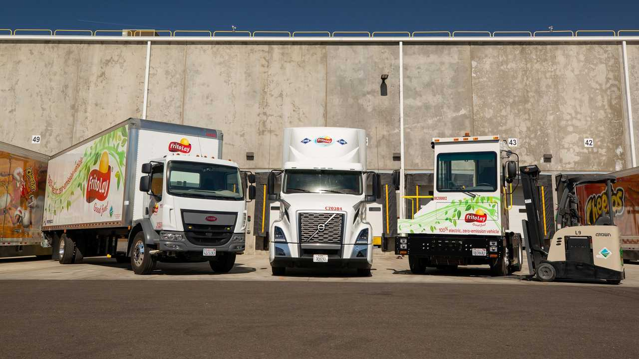 Frito-Lay electric commercial vehicles