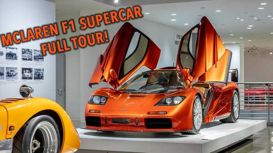 Take a video tour of the extremely rare, all-original McLaren F1 LM