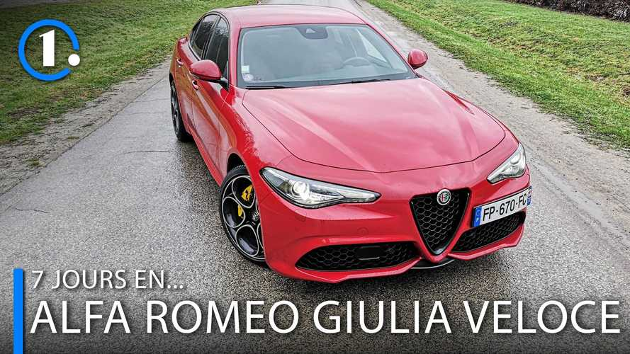 7 jours en... Alfa Romeo Giulia Veloce 280