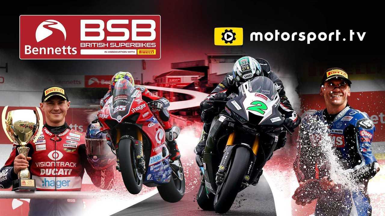 Die Britische Superbike-Meisterschaft startet eigenen Kanal auf Motorsport.tv
