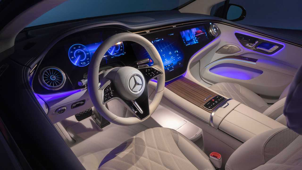 2022 Mercedes-Benz EQS 450 Interior Dashboard