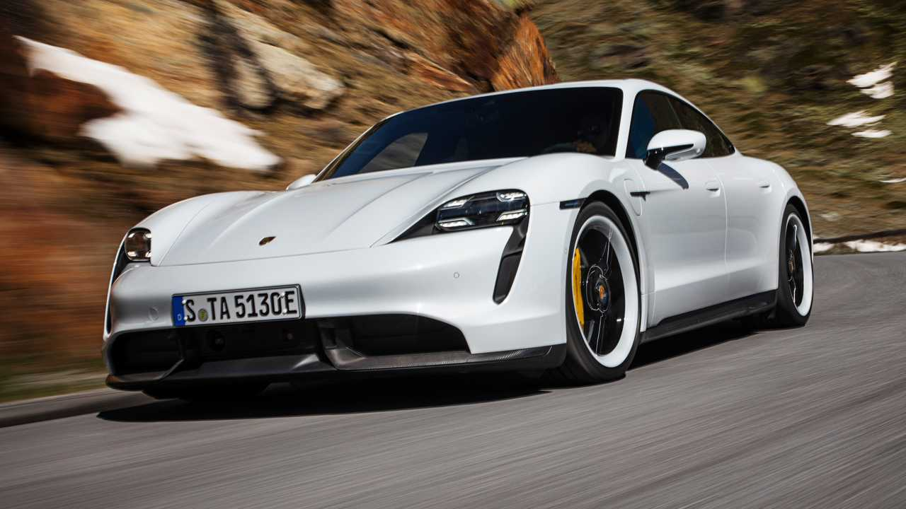 2020 Porsche Taycan getting over-the-air updates