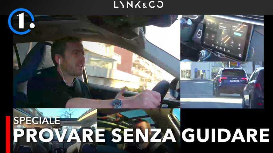 """Lynk&Co 01, la prima prova """"virtuale"""" del SUV ibrido cino-svedese"""