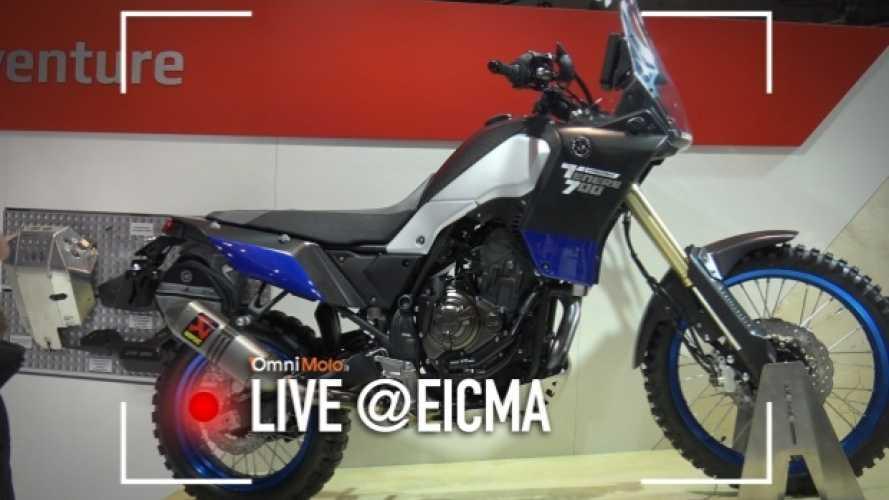 Yamaha Ténéré 700 World Raid Concept, da prototipo a... prototipo