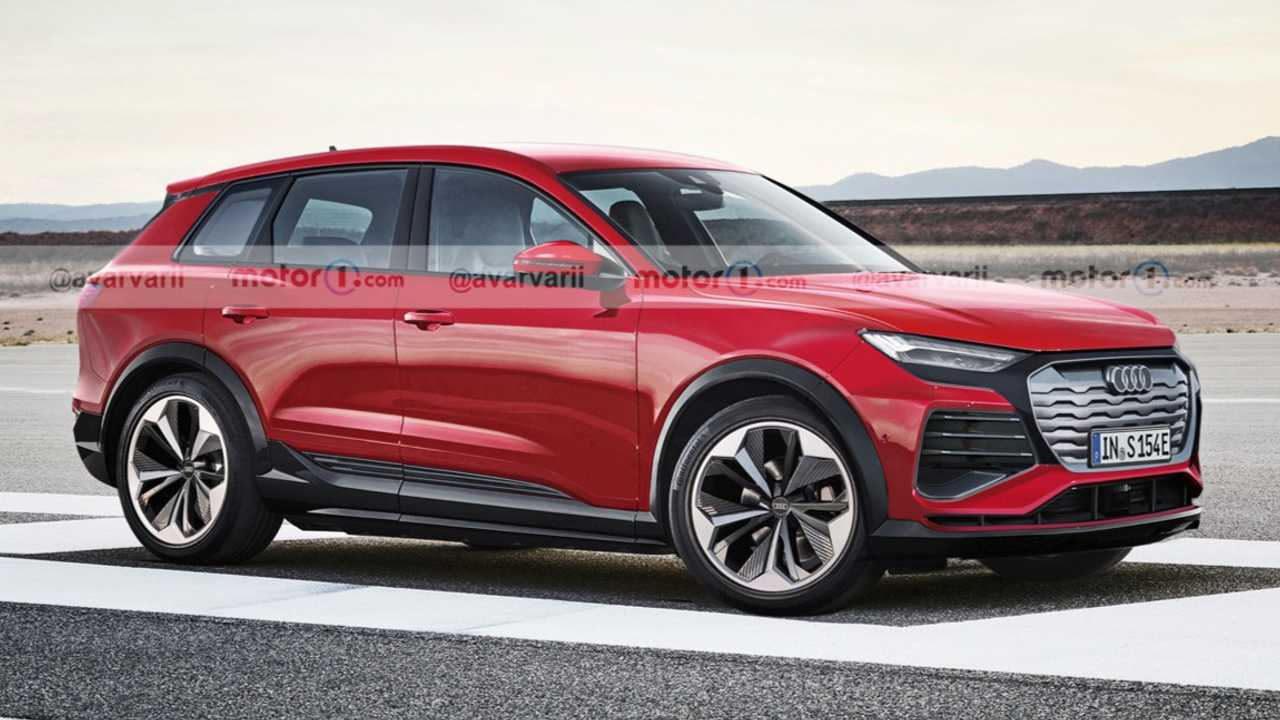 Audi Q5 E-Tron rendered