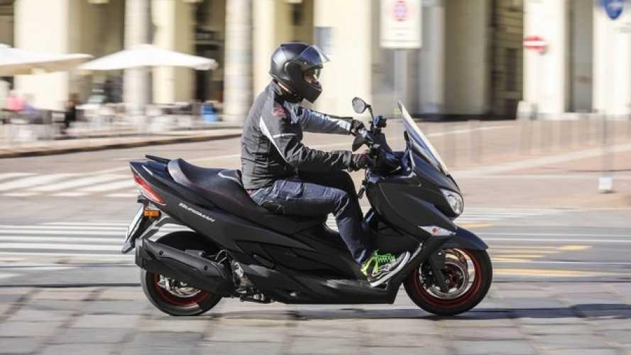 Nuovo Suzuki Burgman 400 ABS - TEST
