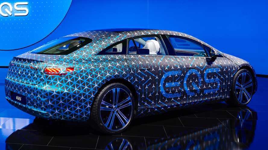 Mercedes EQS è l'auto di serie più aerodinamica del mondo