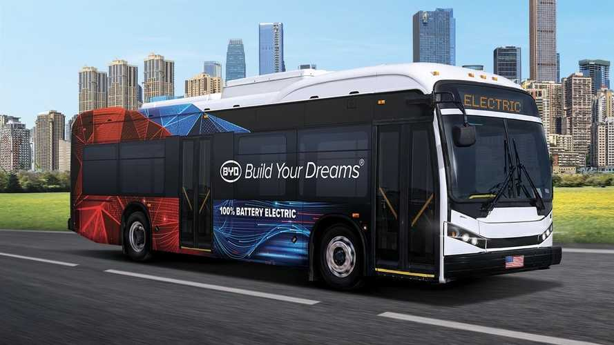 BYD K8M Shines In Federal Transit Administration Bus Test
