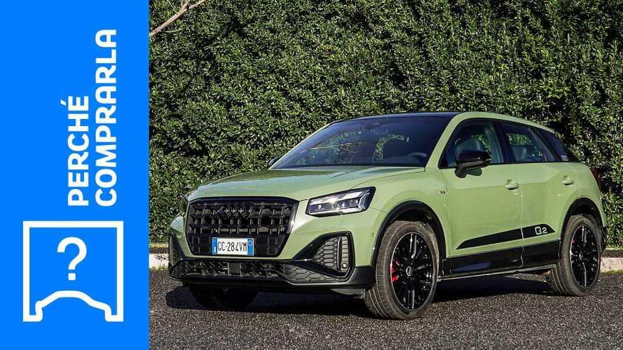 Audi Q2 (2021), perché comprarla e perché no