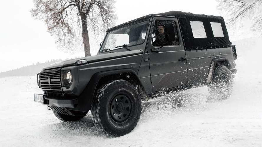 Mercedes/Puch G von Lorinser Classic auf 2,9 Liter aufgebohrt