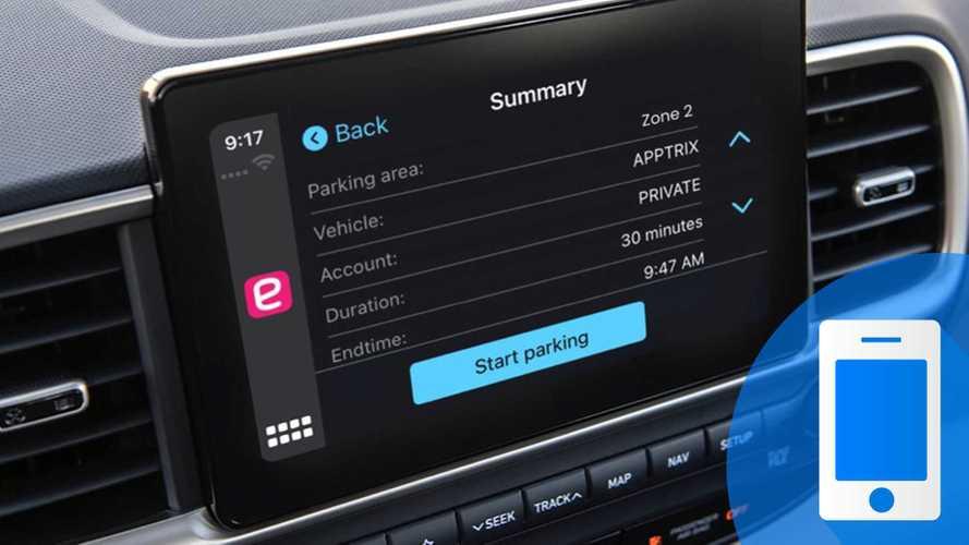Come pagare il parcheggio con CarPlay tramite l'app EasyPark