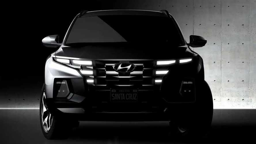 Hyundai Santa Cruz 2022, teasers