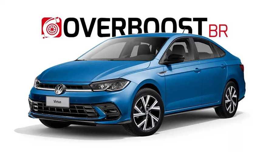Novo VW Virtus 2023 se inspira no Jetta em projeção