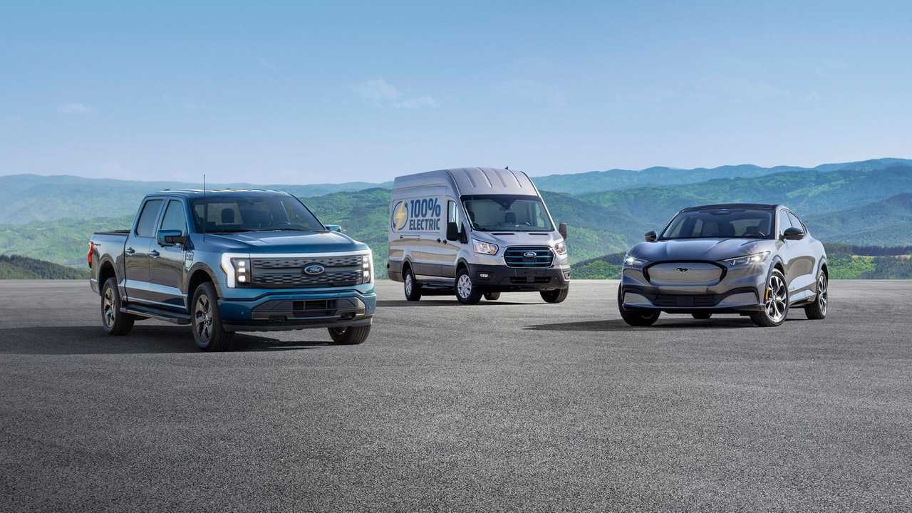 Ford going all electric in the US