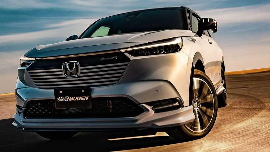 Honda Vezel 2021 pela Mugen