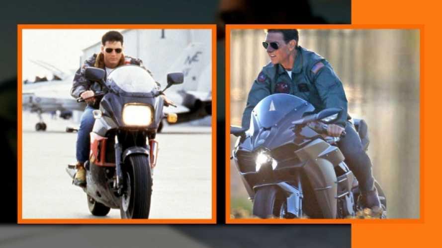 Top Gun 2: Tom Cruise sale sulla Kawasaki H2R