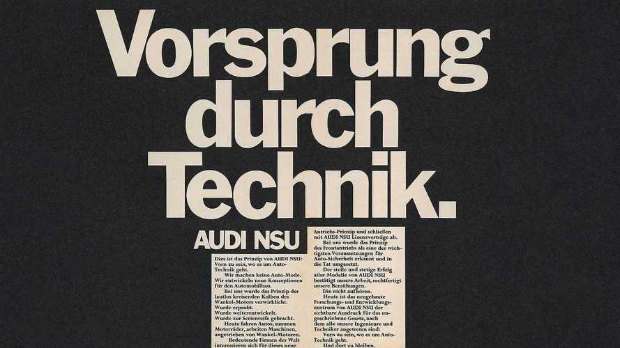 """Audi feiert 50 Jahre """"Vorsprung durch Technik"""""""
