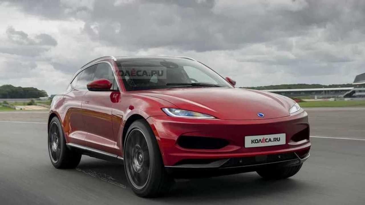 Karma Elektrikli SUV Hayali Tasarımı (Render)