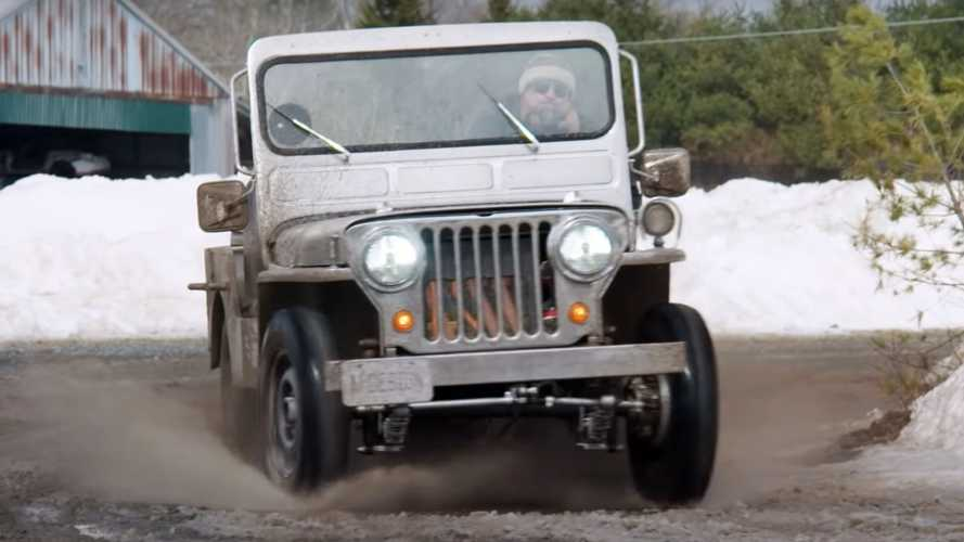 Electric Willys Jeep Restomod Carries Only Two Original Parts