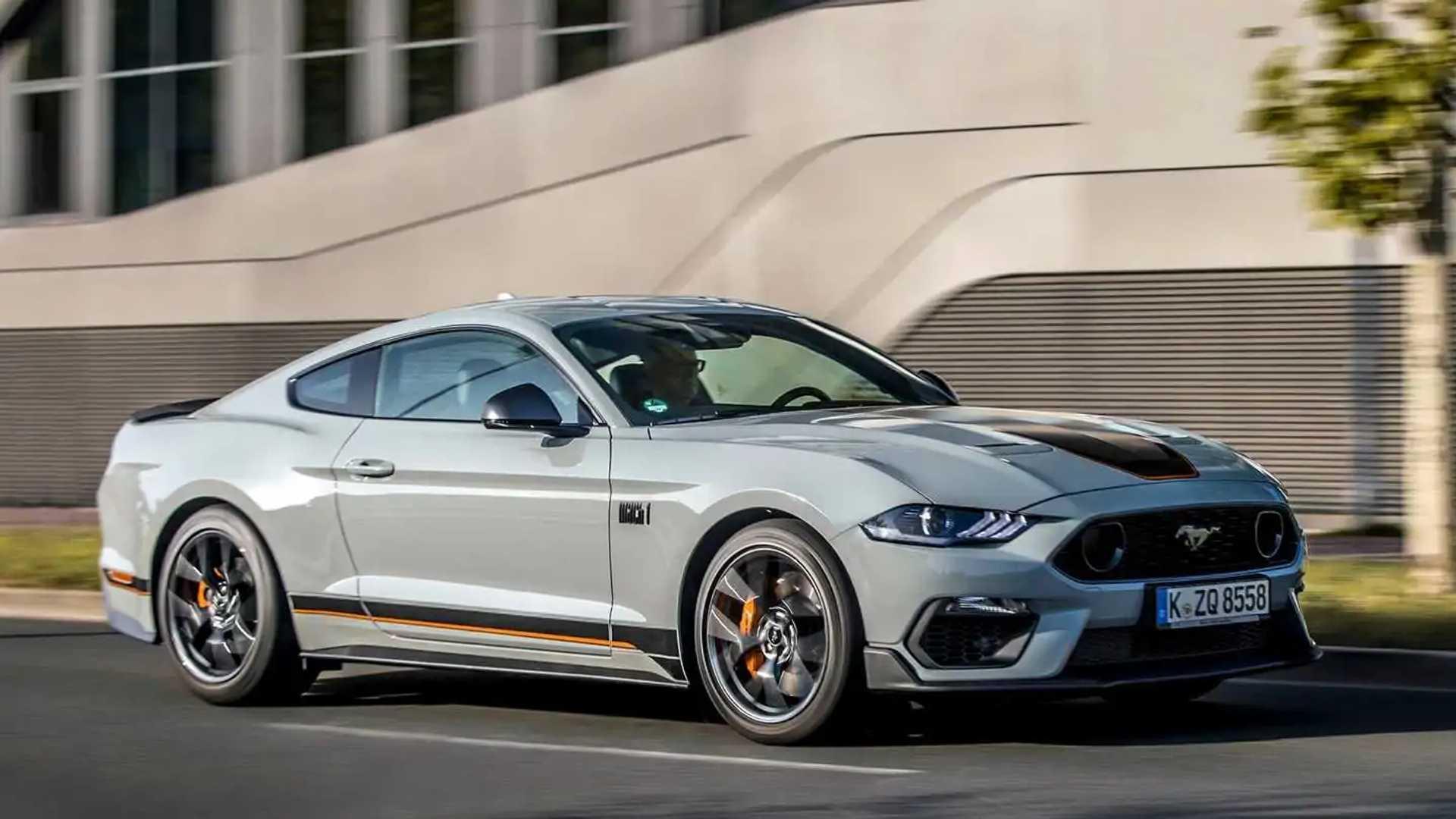 Ford уже внес некоторые изменения в Mustang Mach 1