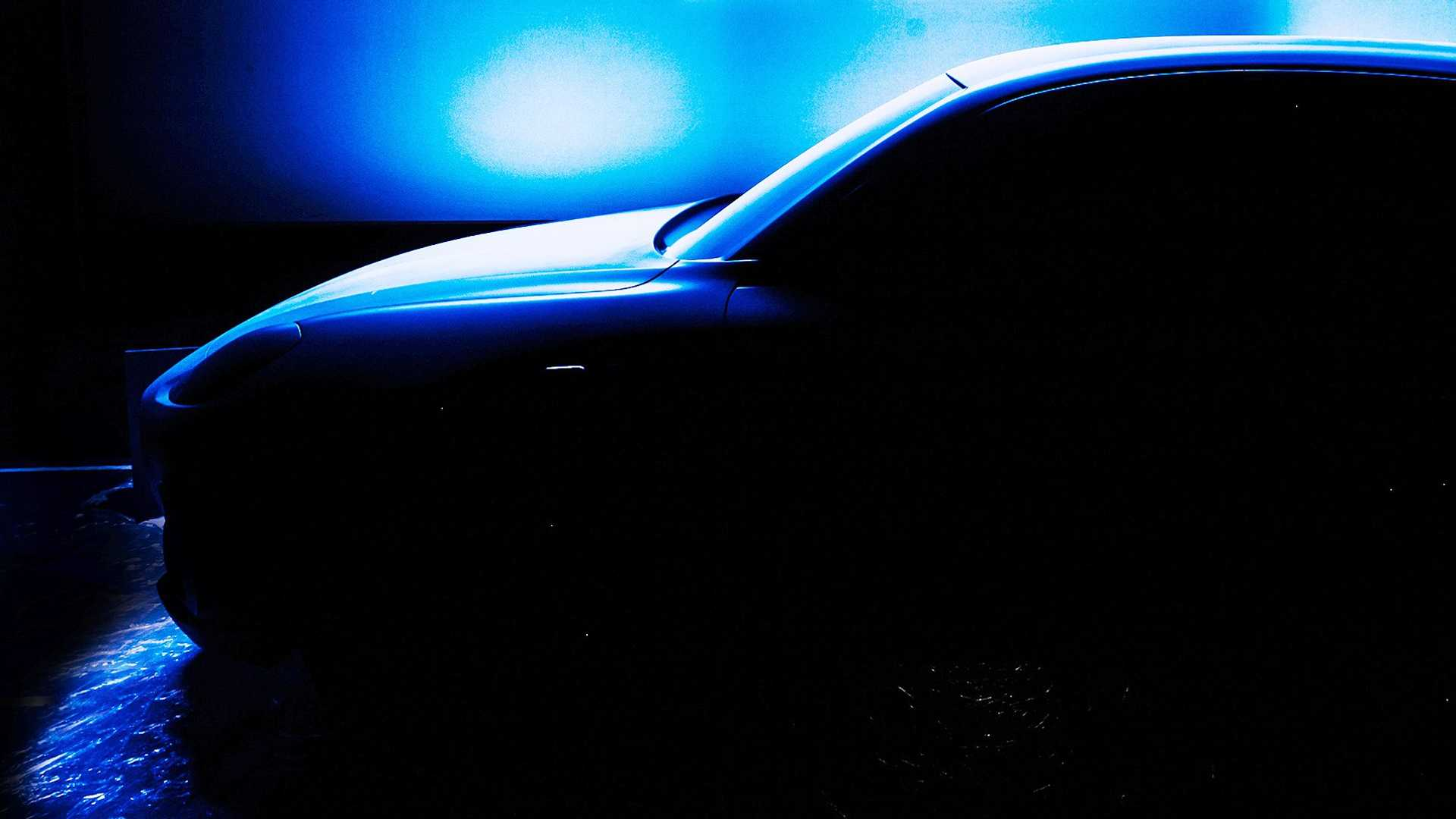 Maserati Grecale, the first teaser photo