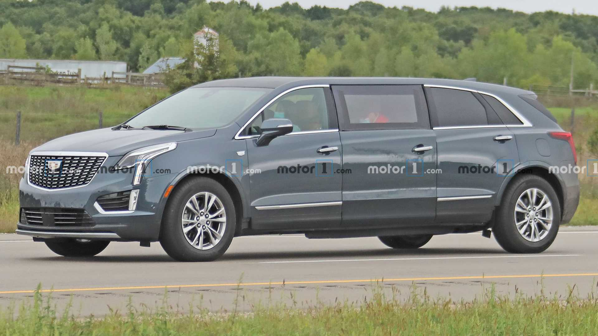 Spy Shots Cadillac Xt5 First Drive